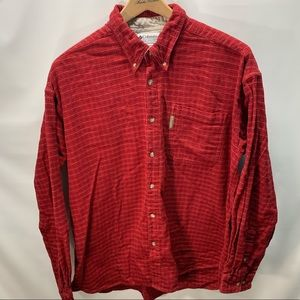 Columbia Plaid Button Down Shirt Men's Size XXL